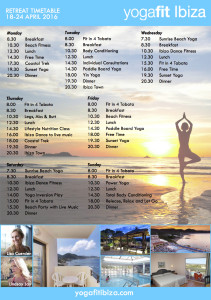 YogaFit Poster back